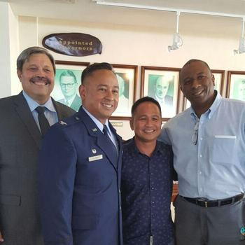 Colonel Frank A. Flores, FD 87' Honored