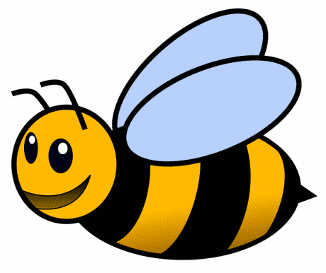 bee clipart 8 486x598