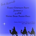 Join in the celebration of Epiphany--Sun., Jan. 5 from 3:00-5:00PM.