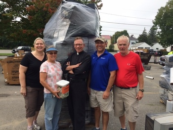 E-Waste Donation Day a Huge Success!