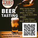 Young Adult - Beer Tasting - August 26