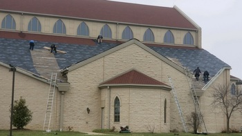 Church Gets New Roof