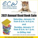 CCW Used Book Sale