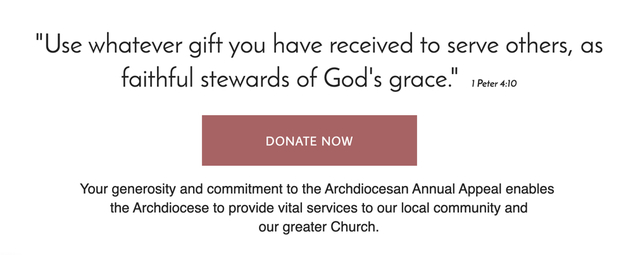 San Francisco Archdiocesan Annual Appeal 2020