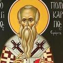 February 23, Feast of St. Polycarp