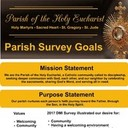 Parish Survey Goals
