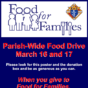 Knights of Columbus Food For Families Fund Drive