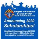 <div>   KOC Council #15791  </div>  <div>   2020 James O Harris Scholarships  </div>