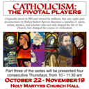 Aging with Grace hosts: Pivotal Players Part 3 at Holy Martyrs Postponed Due to Covid