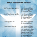 Easter Mass Lottery Signup