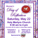 Women's Day of Reflection at Holy Martyrs, May 22