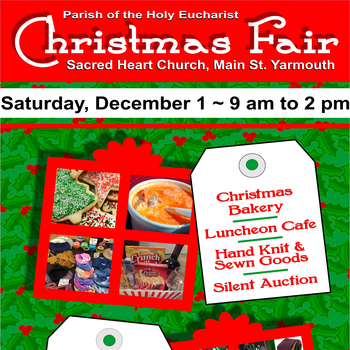 The Christmas Fair is December 1!