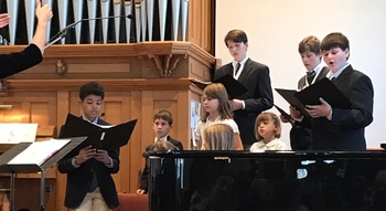 Youth Schola Mass this weekend!