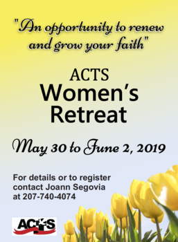 Coming this spring! The POTHE Women's ACTS Retreat