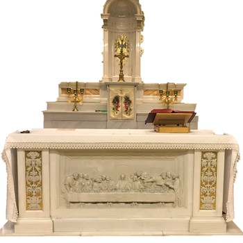 An Update from Fr. Dan About the Sacred Heart Altar
