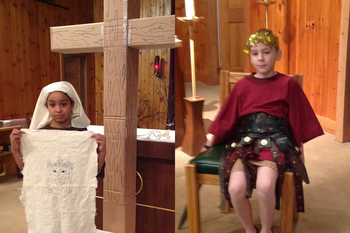 "Youth-presented ""Living Stations"" at St. Jude this Week!"