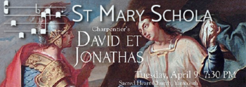 St. Mary Schola Lenten Concert at Sacred Heart