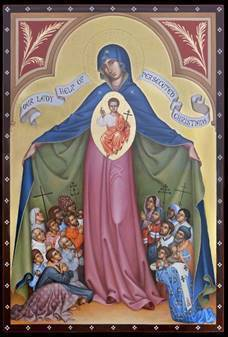 Marian Icon on Display