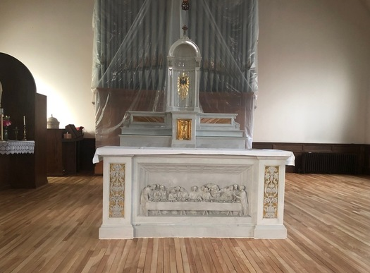 Sacred Heart Altar Renovation | Parish of the Holy Eucharist