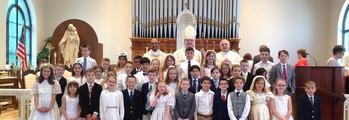 Congratulations to our 39 parish children...