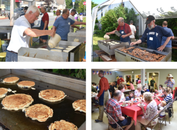 Hundreds celebrate the 4th of July at St. Jude's All-You-Can-Eat Pancake Breakfast