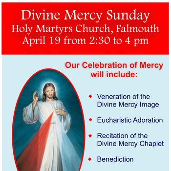 Divine Mercy Sunday - Live Streamed