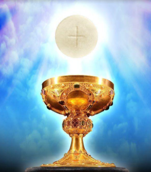 Communion available Sunday morning for those watching Livestreamed Mass