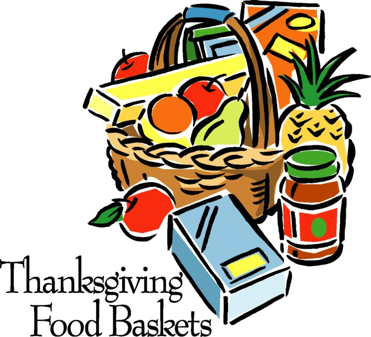 Clip Art Christmas Basket : Thanksgiving baskets parish of the holy eucharist