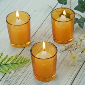 The light signifies our prayer, which is offered in faith, entering the light of God. It also shows reverence and our desire to remain present in prayer even as we continue on our day. Burning votive candles are a common sight in most Catholic church