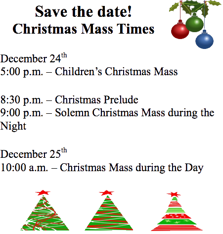 save the date christmas mass times st mary s cathedral