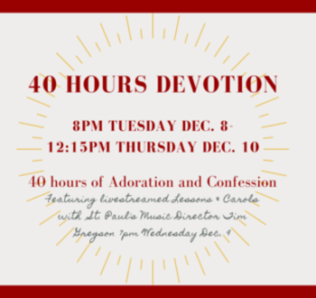 Sign up for Adoration