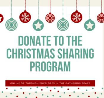 Donate to the Christmas Sharing Program