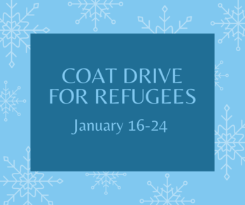 Coat Drive for Refugees