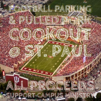Football Parking and Tailgate Cookout at St. Paul's.