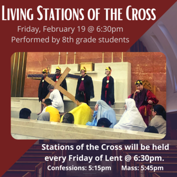 Living Stations of the Cross February 19