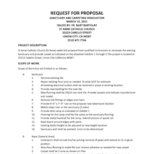 Sanctuary, Tabernacle, and Carpet Request for Proposal (RFP)