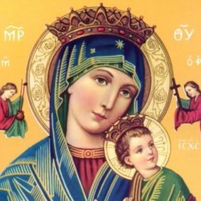Rosary and devotion to our mother of perpetual help