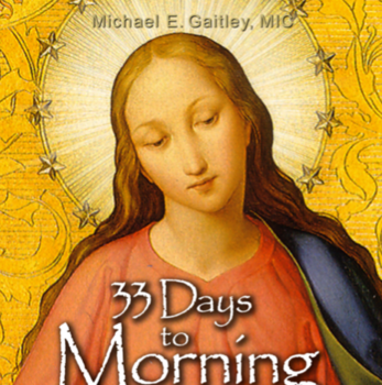 33 Days Consecration to Jesus Through Mary Begins