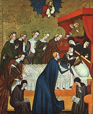 Death of St. Clare of Assisi