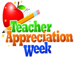 Teacher Appreciation Week is May 2-8