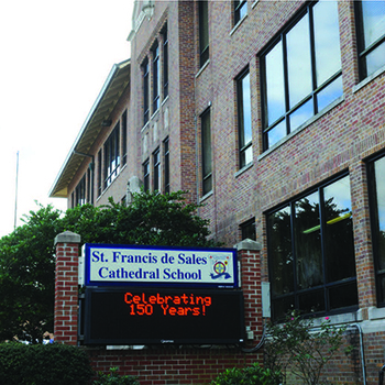 Reflections of 150 years of Catholic education at St. Francis de Sales