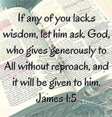 When seeking wisdom don't forget the role of faith and prayer