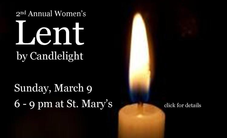 Women's Lent by Candlelight