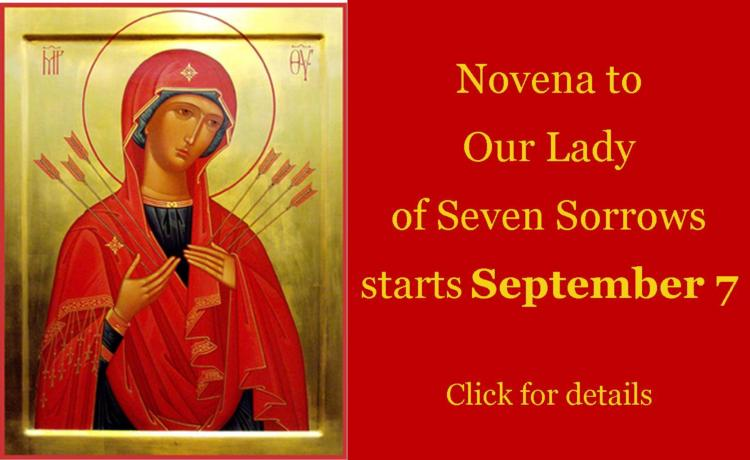 Novena to Our Lady of Seven Sorrows