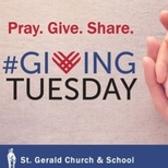 #GivingTuesday PRAY. GIVE. SHARE.