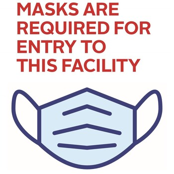 LATEST UPDATE as of August 23, 2021 MASKS NOW REQUIRED