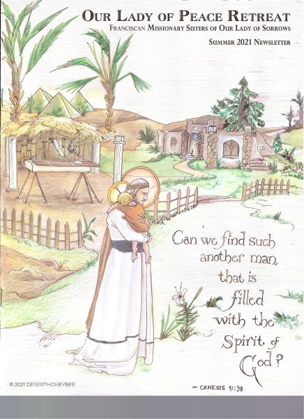 Summer 2021 Newsletter, Our Lady of Peace Retreat, Franciscan Missionary Sisters
