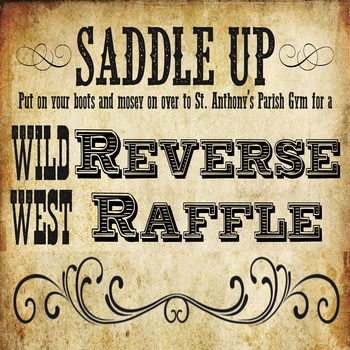 St. Anthony School Reverse Raffle and Silent Auction