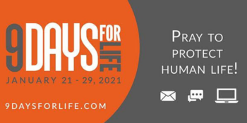 9 Days for Life & Virtual Walk for Life