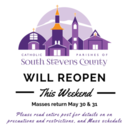 Parishes will REOPEN THIS WEEKEND